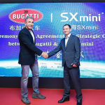 ECONOMIE : Le fabricant d'e-cigarette SX Mini signe un partenariat de prestige avec Bugatti !