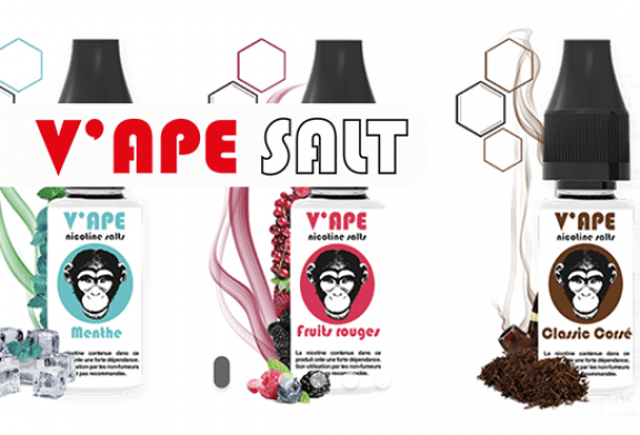 TALK E-JUICE: V'ape, נוזלים אלקטרוניים עם מלחי ניקוטין ללא חומצה בנזואית