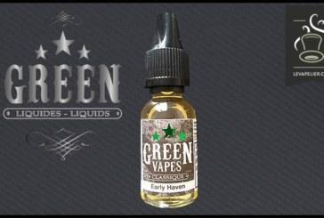 סקירה / בדיקה: מקלט מוקדם (ירוק Vapes קלאסי טווח) על ידי גרין Liquides
