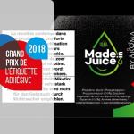 INDUSTRY: AG3M wins UNFEA Grand Prize for its e-liquid label