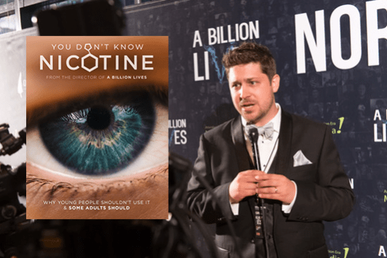 """CULTURE: After """"A Billion Lives"""", director Aaron Biebert tackles a new film about nicotine."""