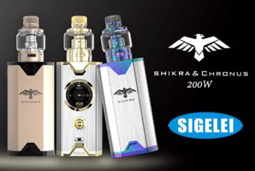 מידע נוסף: Chronus Shikra 200W (Sigelei)