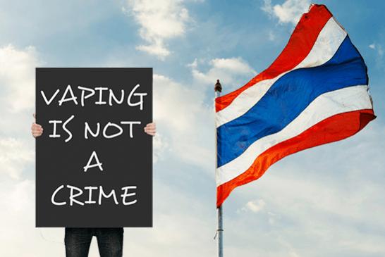 ТАИЛАНД: Вагеры призывают правительство снять запрет на электронные сигареты