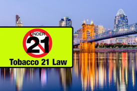 美国:俄亥俄州辛辛那提市禁止销售电子烟至少于21年。