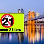 USA: The city of Cincinnati Ohio prohibits the sale of e-cigarettes to less than 21 years.