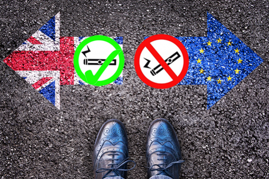ΗΝΩΜΕΝΟ ΒΑΣΙΛΕΙΟ: Η κυβέρνηση δεσμεύεται να αναθεωρήσει τη ρύθμιση για τα ηλεκτρονικά τσιγάρα μετά την Brexit.