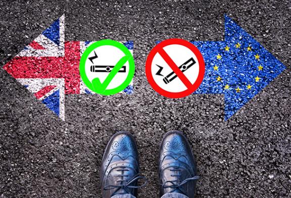 ROYAUME-UNI : Le gouvernement s'engage à revoir la réglementation de l'e-cigarette après le Brexit.