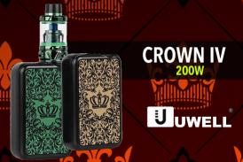 ΠΛΗΡΟΦΟΡΙΕΣ ΠΑΡΤΙΔΑΣ: Crown IV 200W TC (Uwell)
