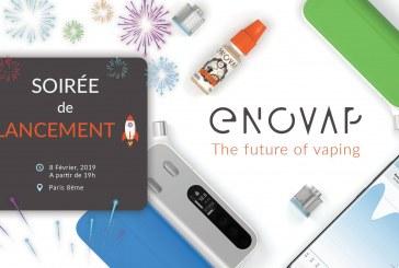 Official Launch Enovap - Paris (FRANCE)