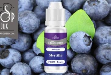 REVUE / TEST : Myrtilles (Gamme Les Classiques) par Cirro