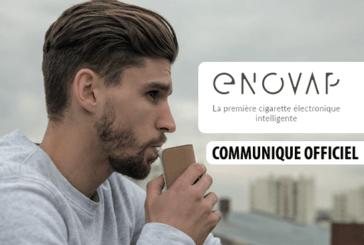 COMUNICATO STAMPA: Enovap, la prima e-sigaretta per sbarazzarsi di tabacco e nicotina