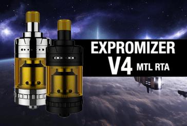 מידע נוסף: Expromizer V4 MTL RTA (Exvape)