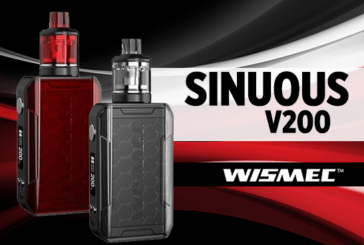 INFO BATCH : Sinuous V200 (Wismec)