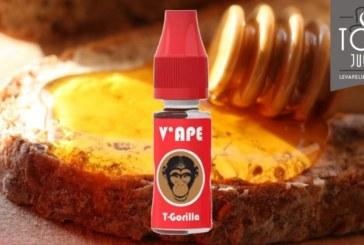 REVUE / TEST : T-Gorilla (Gamme Red) par V'ape