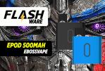 FLASHWARE: אפוד 500mAh (Ebossvape)