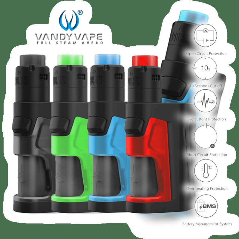 BATCH INFO: Pulse Dual (Vandy Vape)