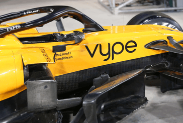 "ECONOMY: ""Vype"" logo will appear on the F1 McLaren at the Bahrain Grand Prix"