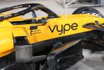 """ECONOMIE: Het """"Vype"""" -logo zal verschijnen op F1 McLaren tijdens de Grand Prix van Bahrein"""