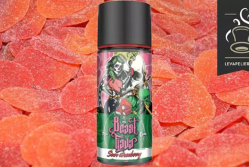 REVUE / TEST : Sour Strawberry (Gamme Beast Flava) par MY'S Vaping