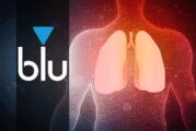 STUDIE: Der Dampf der blauen E-Zigarette hat einen ähnlichen Einfluss wie Frischluft auf das Lungengewebe.
