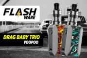 FLASHWARE: Ziehen Sie Baby Trio 25W (Voopoo)