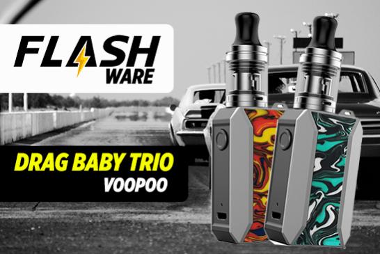 FLASHWARE: Drag Baby Trio 25W (Voopoo)
