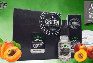 REVUE / TEST : Early Haven (Gamme Full Vaping) par Green Liquides