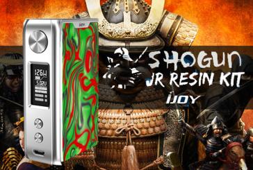 INFO BATCH : Shogun JR Resin 126W (Ijoy)