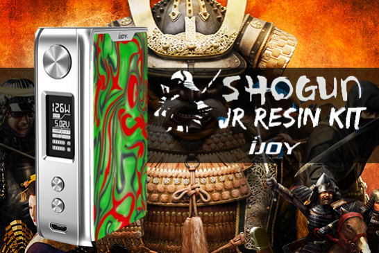 BATCH INFO: Shogun JR Resin 126W (Ijoy)