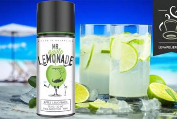 REVUE / TEST : Mr Lemonade apple par MY'S Vaping