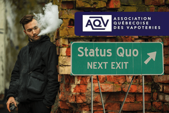 KANADA: Vapotage, der Status Quo wäre im Kampf gegen den Tabak kontraproduktiv