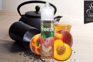REVUE / TEST : Black Ice Tea Pêche (Gamme Freeze Tea) par Made In Vape