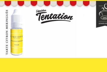 REVUE / TEST : Tarte Citron Meringuée (Gamme Tentation) par Liquideo