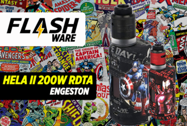 FLASHWARE : Hela II 200W RDTA  (Engeston)