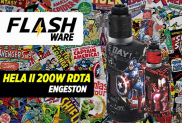 FLASHWARE: הלה השנייה 200W RDTA (Engeston)
