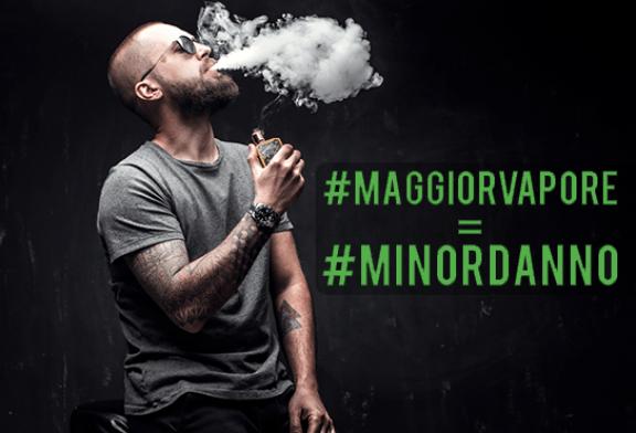 ИТАЛИЯ: #MAGGIOrVAPORE, кампания по уменьшению риска и вейпу!