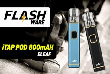 FLASHWARE : iTap Pod 800mAh (Eleaf)