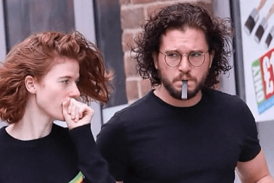 人们:Kit Harington(Jon Snow)因vape和Juul而断奶!