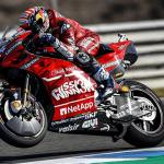 """ECONOMÍA: No hay el logotipo """"Mission Winnow"""" en las motos Ducati en Le Mans GP."""