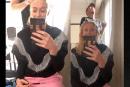 ЛЮДИ: Случайно Софи Тернер снимается в прямом эфире в Instagram со своим вейпом с каннабисом.