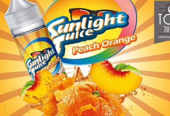 REVUE / TEST : Peach Orange par Sunlight Juice