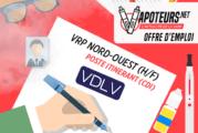 Oferta de trabajo: VRP Nord-Ouest (H / F) - VDLV - Puesto de viaje