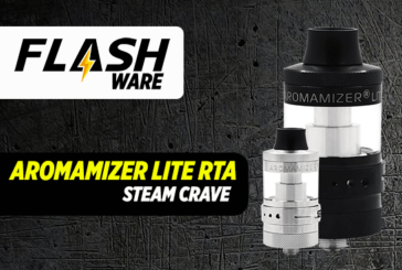 FLASHWARE: Aromamizer לייט RTA (קיטור השתוקקות)