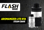 FLASHWARE: Aromamizer לייט RTA (קיטור השתוקקות)