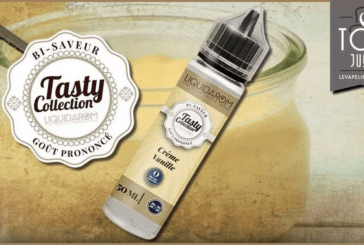 REVUE / TEST : Crème Vanille (Gamme Tasty) par Liquidarom
