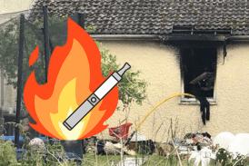 ОБЩЕСТВО: зарядное устройство для электронных сигарет вызывает пожар в доме!