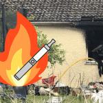 SOCIÉTÉ : Un chargeur d'e-cigarette cause un incendie dans une maison !