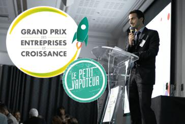 ÉCONOMIE : La société d'e-cigarette Le Petit Vapoteur remporte le Grand Prix des entreprises de croissance