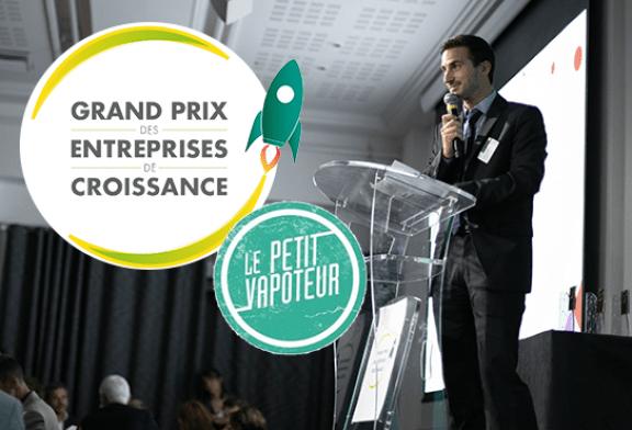 ЭКОНОМИКА: компания по производству электронных сигарет Le Petit Vapoteur выигрывает Гран-при растущих компаний