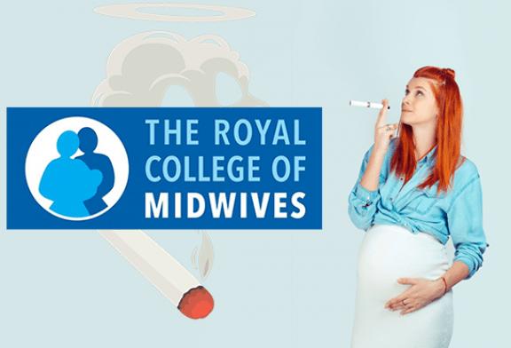 ВЕЛИКОБРИТАНИЯ: Королевский колледж акушерок поощряет курящих беременных женщин использовать электронную сигарету!